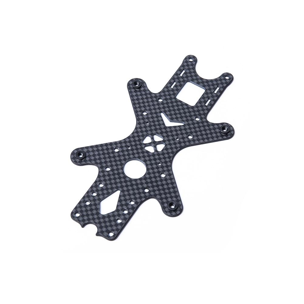 Iflight peça de reposição 2mm placa inferior para iflight nazgul5 xl5 v4 kit quadro fpv racing drone