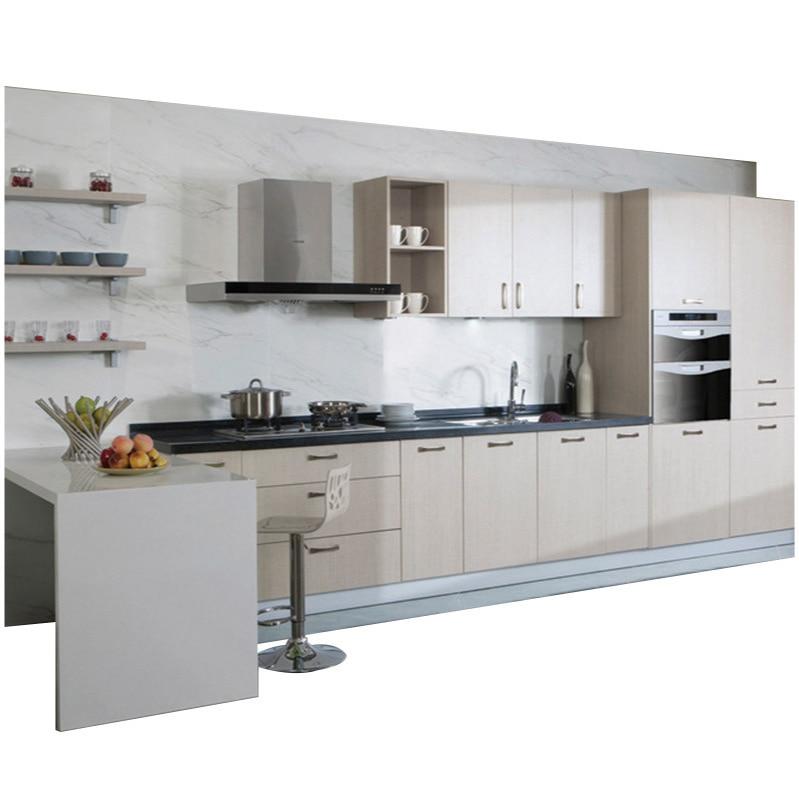 خزنة من الصلب غير القابل للصدأ مخصصة 304 الفولاذ المقاوم للصدأ خزانة مطبخ متكاملة خزانة اقتصادية