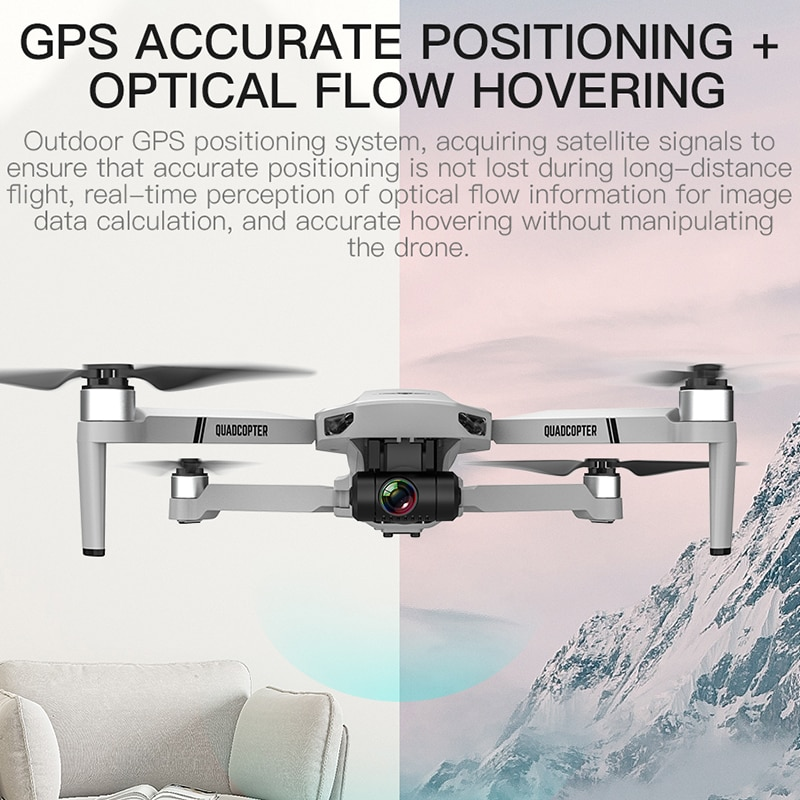 LAUMOX KF102 GPS Drone 4K HD Camera with 2-Axis Anti-Shake Gimbal Profesional Quadcopter Brushless WiFi FPV Dron VS SG907 MAX 2