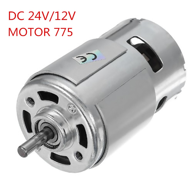 DC 24V/12V 15000RPM High Speed Large torque DC 775 Motor Electric Power Tool new Motors & Parts DC M