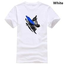 Thin Blue Line K9 T-shirt 2019 New Arrival Mens T-shirt New Mens T-shirt Great Quality Funny Mens Cotton T-shirts Wholesale