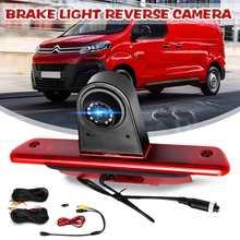 """HD камера заднего вида Камера тормозной светильник парковки обратный 7 """"монитор для Citroen отправки для Peugeot эксперт Toyota Proace 2007 2016 2015"""