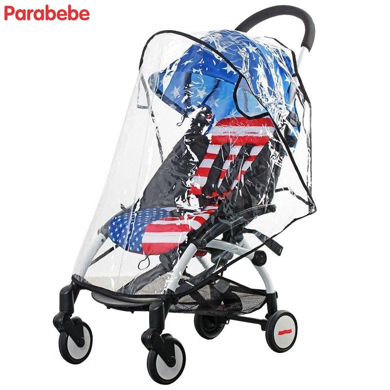 Прозрачный дождевик для коляски, ПВХ принадлежности для детских колясок дождевик для babyzen yoyo yoya, дождевик для зонта, коляски