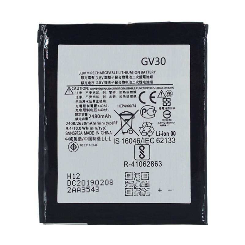 2 pçs novo 2480mah nova bateria gv30 para motorola moto z droid XT1650-01 XT1650-03 XT1650-05 snn5972a 2480/2630mah li-polímero