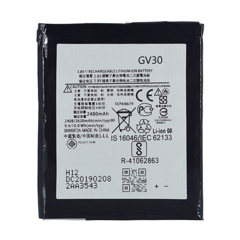 2 uds nueva 2480mAh batería nueva GV30 para Motorola Moto Z Droid XT1650-01 XT1650-03 XT1650-05 SNN5972A/2480/Li-polímero 2630mAh