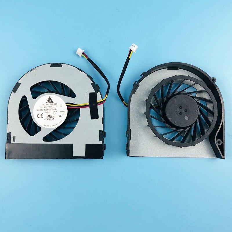 Nuevo ventilador de refrigeración para ordenador portátil Dell Inspiron M4040 M5040 N4050 N5040 N5050 Vostro 1450 3420 1440 P22G ventilador refrigerador KSB0605HA -AM64