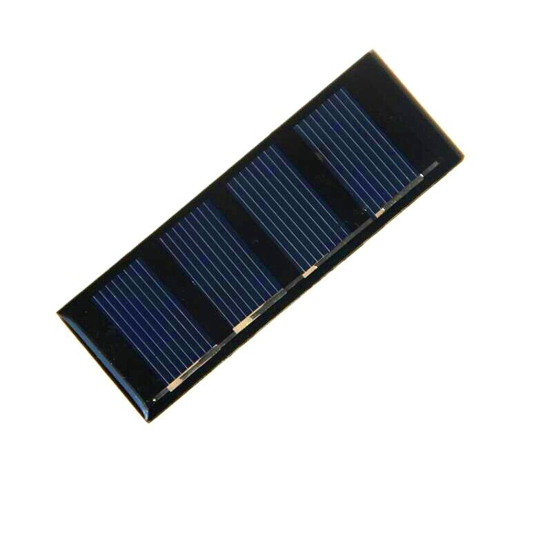 0,2 W 2V Mini célula Solar policristalino DIY del cargador del Panel Solar para la luz LED * 78,8*28,3 MM educación 20 pzasfree envío