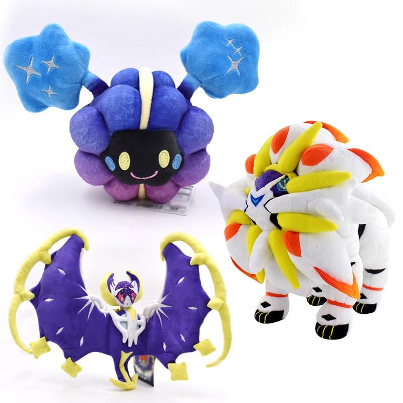 Boneca takara tomy pokemon, delicada, alola solgaleo, cosmog, sun moon, brinquedos de pelúcia, anime, figura de ação