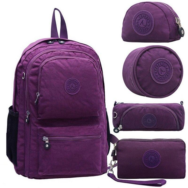 Aceperch mochilas de escuela para niñas niños mochilas de libros para niños mochila para adolescentes mochila escolar estuche con llavero