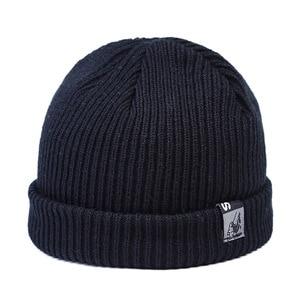 Hat Men's Korean Version of Versatile Wool Hat Warm Casual Hat Knitted Hat  Hats for Women  Hats  Bonnets  Women Hats  Beanie