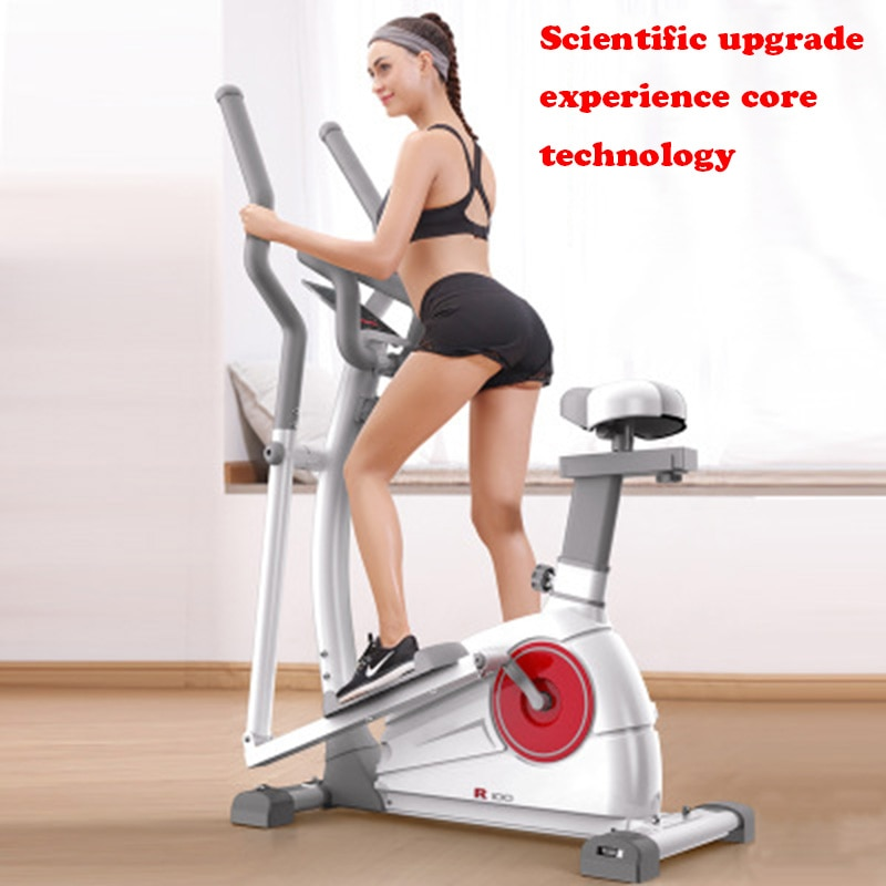 Elliptical machine home gym equipment commercial space walk machine indoor small magnetic control stepper silent bicycle