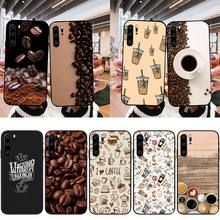 XSPING Coffee  Phone Case For Huawei MATE P30 40 PRO LITE Honor 20 30 V30 Y5 6 8 9