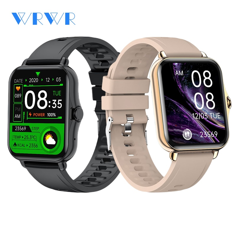 WRWR 2021 ساعة ذكية الاتصال الهاتفي الساعات الرجال النساء مقاوم للماء Smartwatch اللياقة البدنية تعقب لنظام أندرويد أبل هواوي شاومي