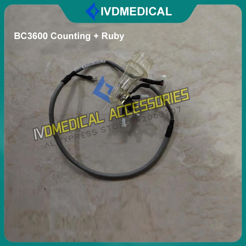 Mindray BC-3600 BC3300 BC3600 Hematology Analyzer WBC Bath Assembly Counting Tank Counting Pool Chamber Counting Bath with Ruby