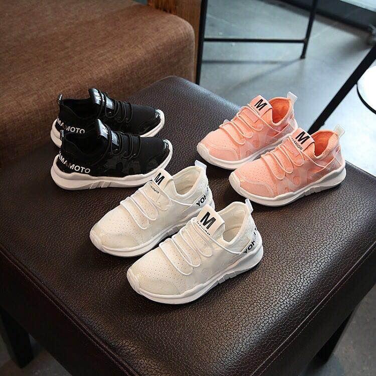 Zapatos para niños, niñas, Zapatillas de malla informales, transpirables, con suela blanda, zapatillas deportivas para correr