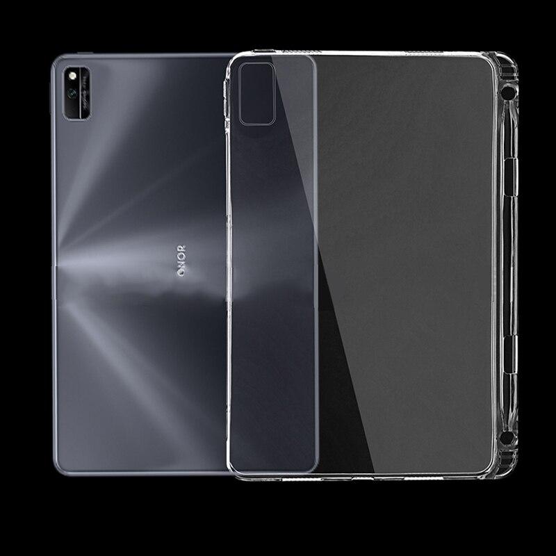 С держателем для карандашей, силиконовый чехол для Huawei MatePad 10,4, чехол-кобура для HuaWei Honor V6 10,4 KRJ-W09/AN00, умный чехол, чехол чехол
