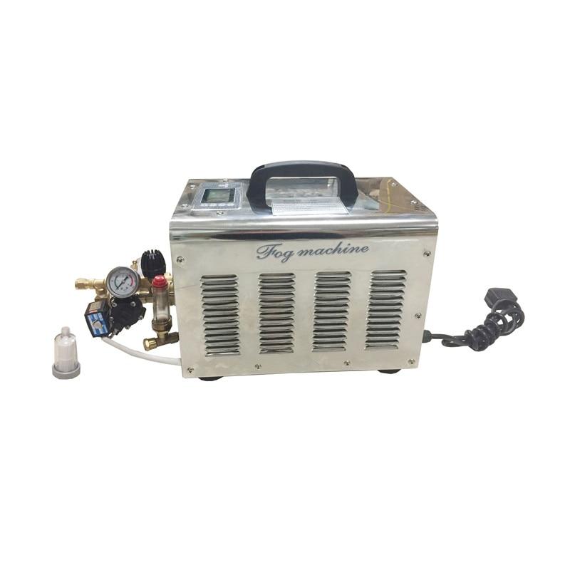 Máquina antiniebla de alta presión 3L con sistema de enfriamiento de nebulización de temporizador de agua con bomba electrolica