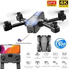 Profession Camera Drone 4K HD ESC Dual Camera GPS Optical flow Follow Me Quadrocopter WIFI FPV Long Battery Rc Drone