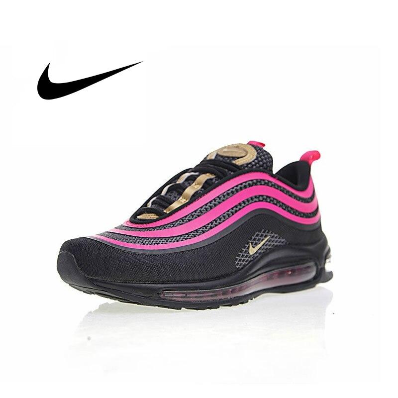 Zapatillas para correr Nike AIR MAX 97 OG, auténticas zapatillas deportivas clásicas de moda para exteriores, zapatillas con absorción de impacto 917999-002