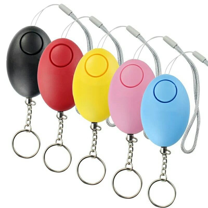 1 pçs anti-perdido alarme localizador chave chaveiro apito som com luz led mini anti perdido localizador chave