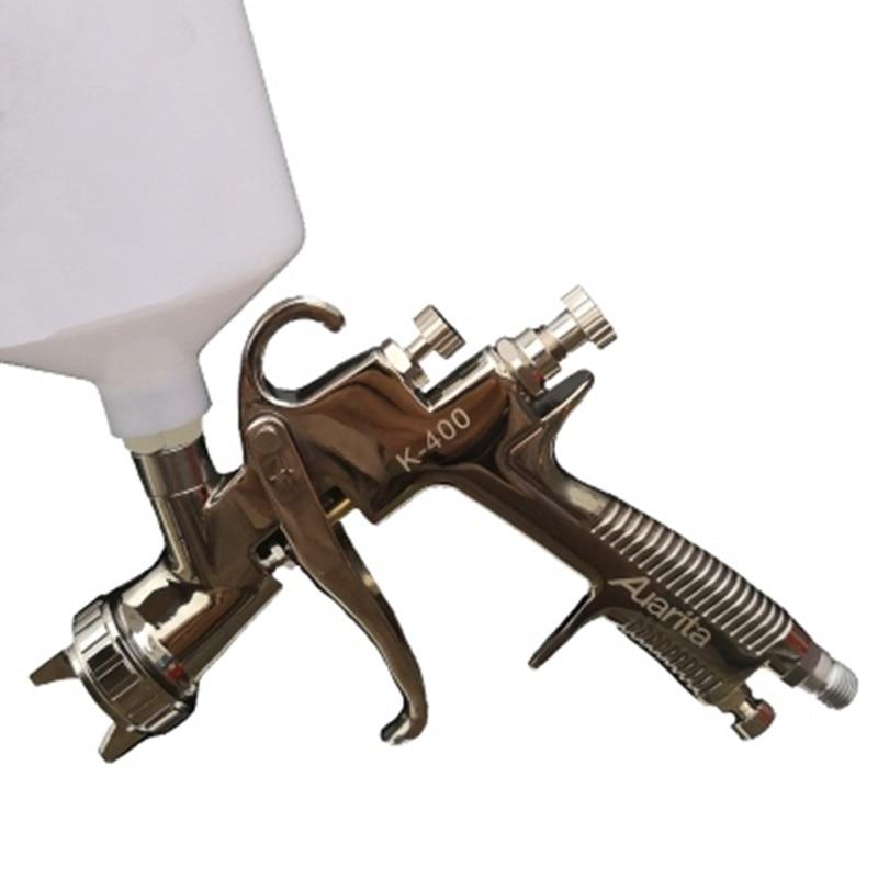 Auarita K400 MP400 spray gun automobile sprayer 1.3/1.4/1.7 high atomization spray gun stainless steel nozzle Paint gun LVMP