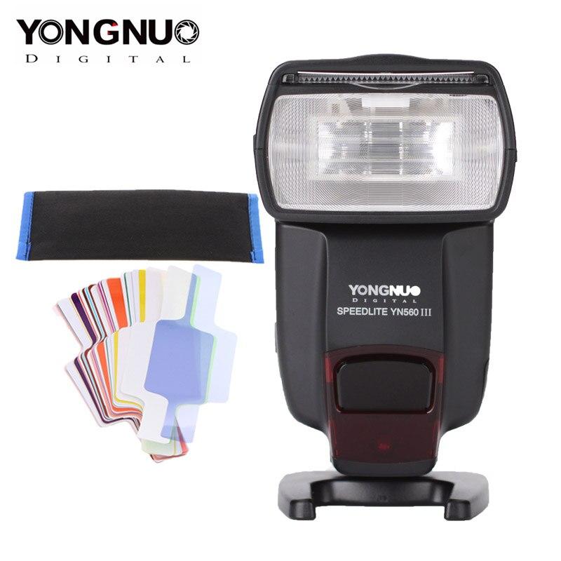 Original YONGNUO YN560III IV YN 560III IV Speedlight sans fil maître pour Canon Nikon Olympus Pentax DSLR appareil photo Flash Speedlite