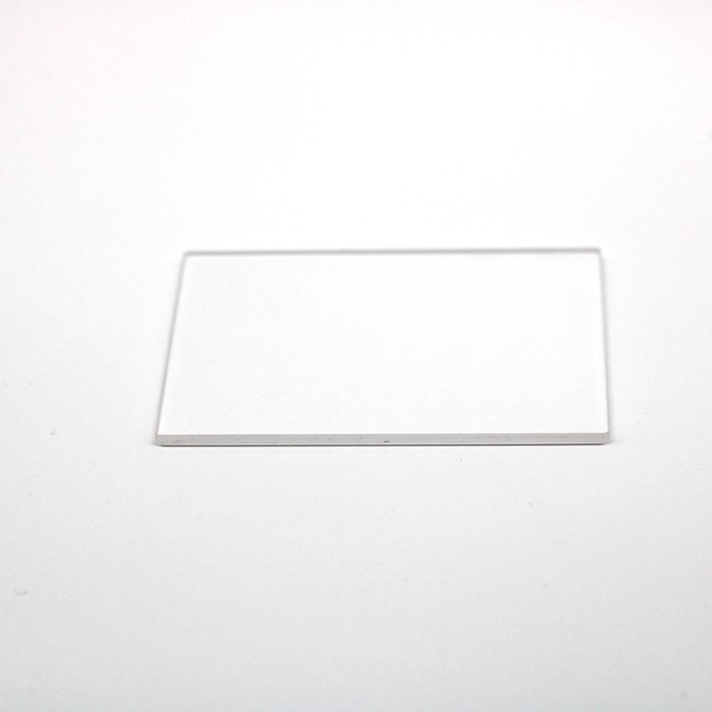 200 قطعة حجم 19.3x29.3x1.35 مللي متر تمرير الأشعة فوق البنفسجية لوحة من زجاج الكوارتز JGS2 للكاميرا CMOS