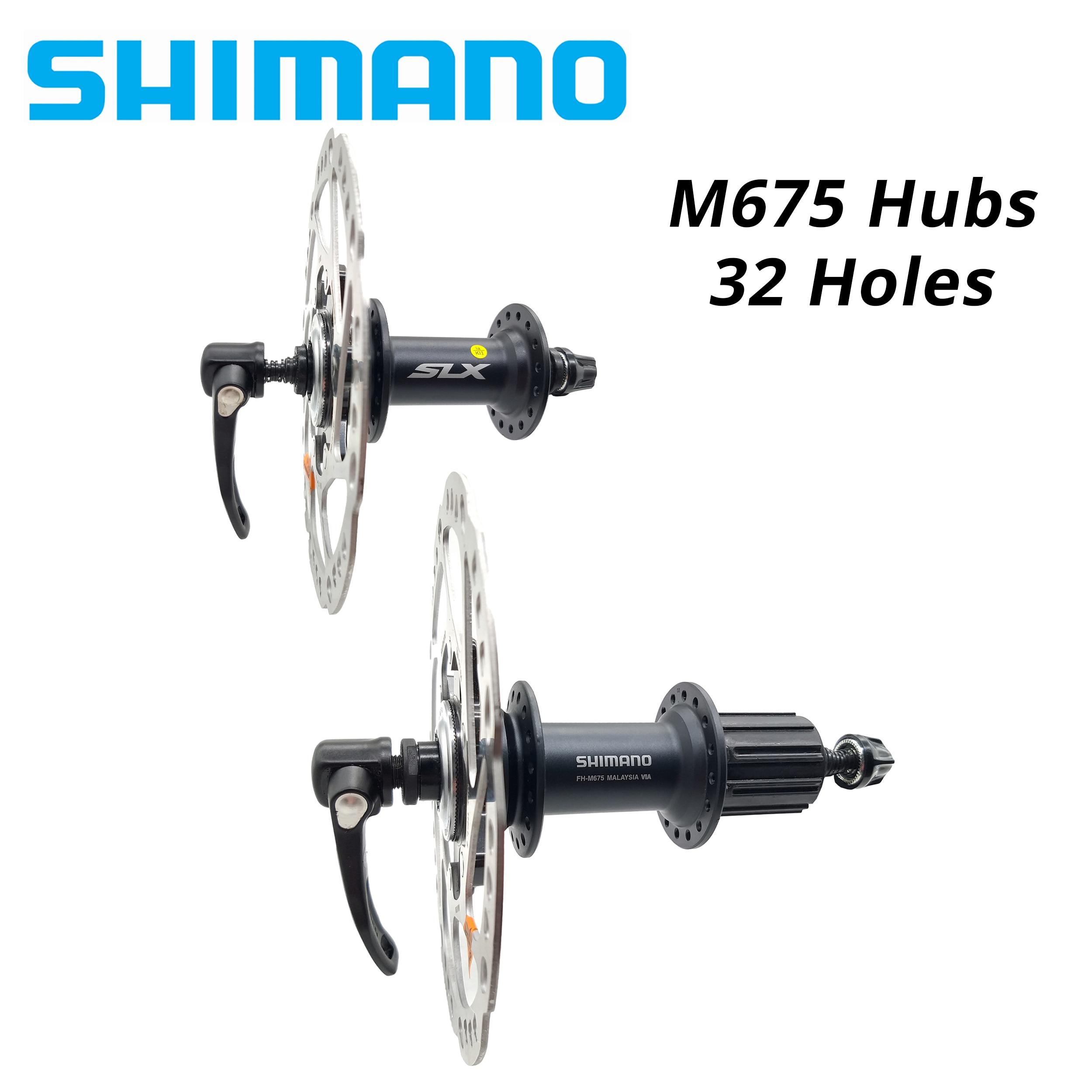 SHIMANO DE0RE SLX HB M675 концентратор и ротор 8 9 10 11 Скорость MTB велосипедный Центральный