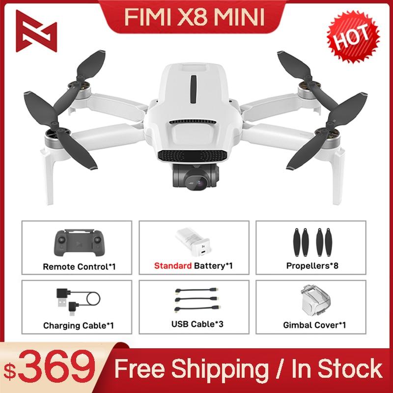 كاميرا FIMI X8 صغيرة بدون طيار 250g-class بدون طيار RC هليكوبتر 8 كجم FPV X8SE بدون طيار 3-Axis Gimbal 4K كاميرا HDR فيديو لتحديد المواقع RTF