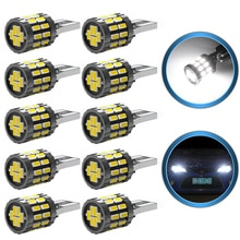 10x w5w t10 led canbus lâmpada para chevrolet cruze captiva aveo orlando trax lacetti faísca interior do carro luz de leitura cúpula