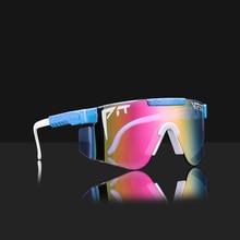 Pit Viper Brand Shield Sunglasses Men ANSI Z87.1 Enhanced Lens Sun Glasses Unisex Freely Adjust The