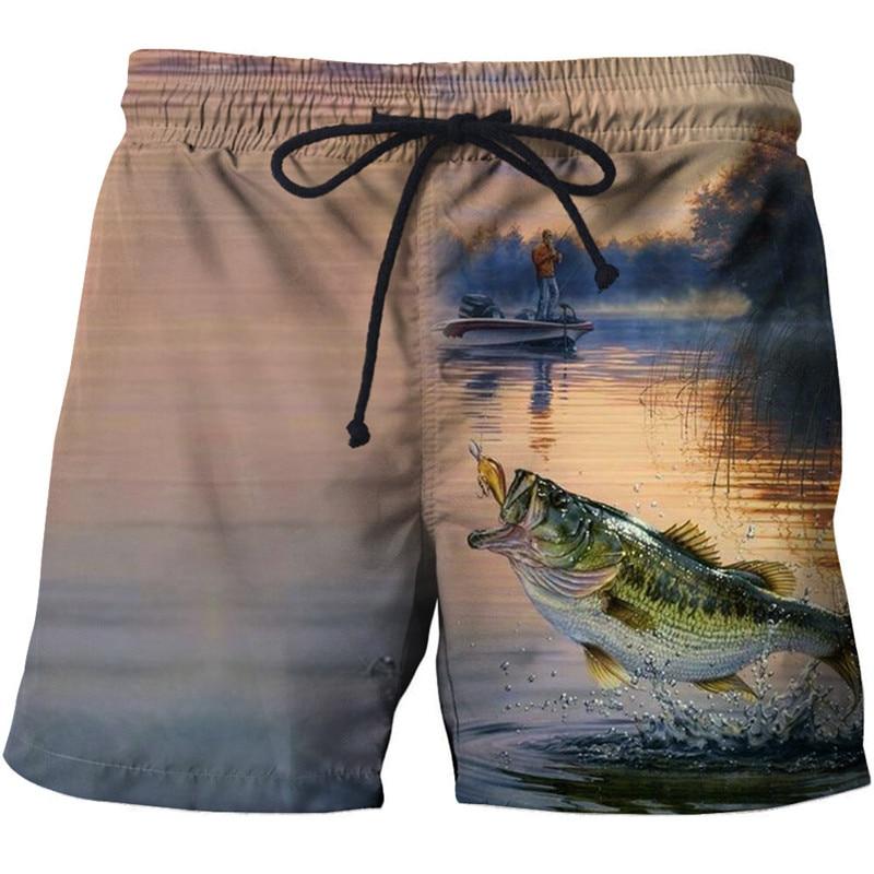 Новые летние быстросохнущие 3D печать мужской купальник Шорты мужские пляжные шорты для серфинга мужские купальные шорты для пляжа Шорты