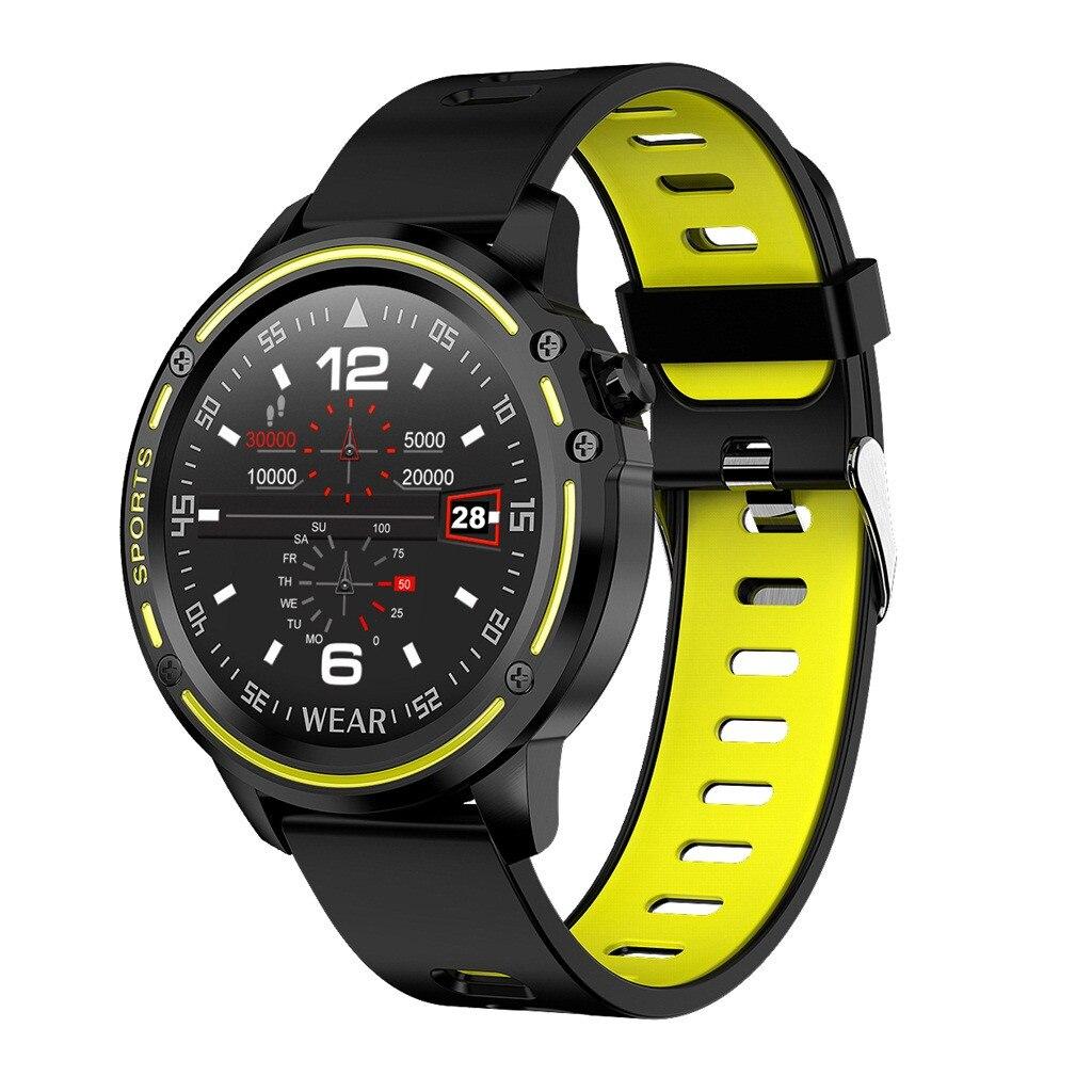 L8 ساعة ذكية الرجال Ip68 مقاوم للماء Reloj Hombre وضع Smartwatch مع Ecg Ppg ضغط الدم معدل ضربات القلب الرياضة اللياقة البدنية #3