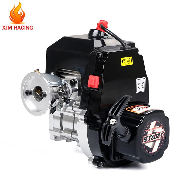 71cc 4 parafuso motor a gasolina com walbro wj71 carburador e ngk vela de ignição para 1/5 hpi rofun baha rovan km baja losi fg