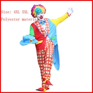 boy pajamas anime bluey costume kids cosplay clown adult suit shoes nose wig high quality cosplay clown costume