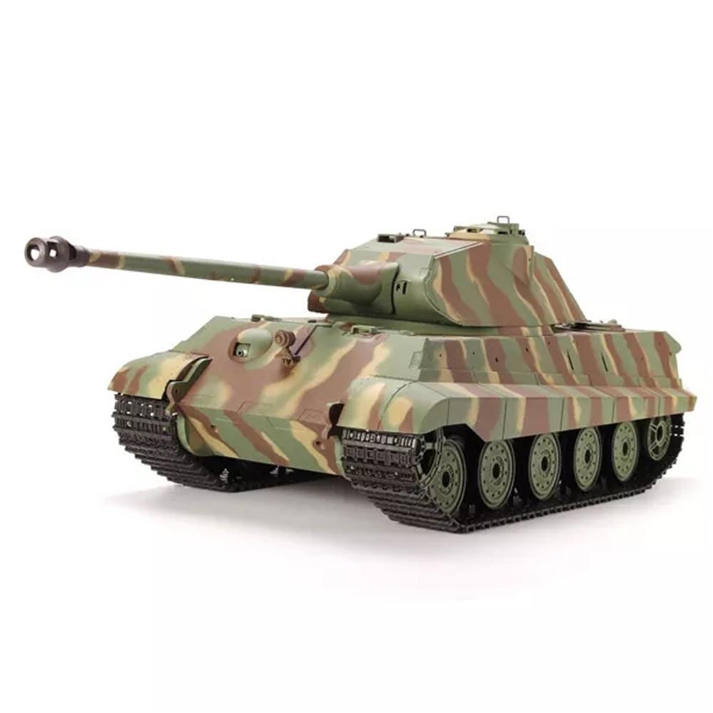 LeadingStar Heng Long 1/16 2.4G 3888-1 German King Tiger RC Battle Car Toy