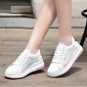 Vulcanized Shoes White Sneakers Platform Sneakers Casual Shoes Women Trainers Women Fashion Scarpe Ginnastica Donna Ayakkabı