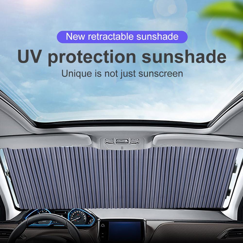 Автомобильный солнцезащитный козырек, автомобильные чехлы для лобового стекла, приборной панели, автомобильный козырек для лобового стекл...