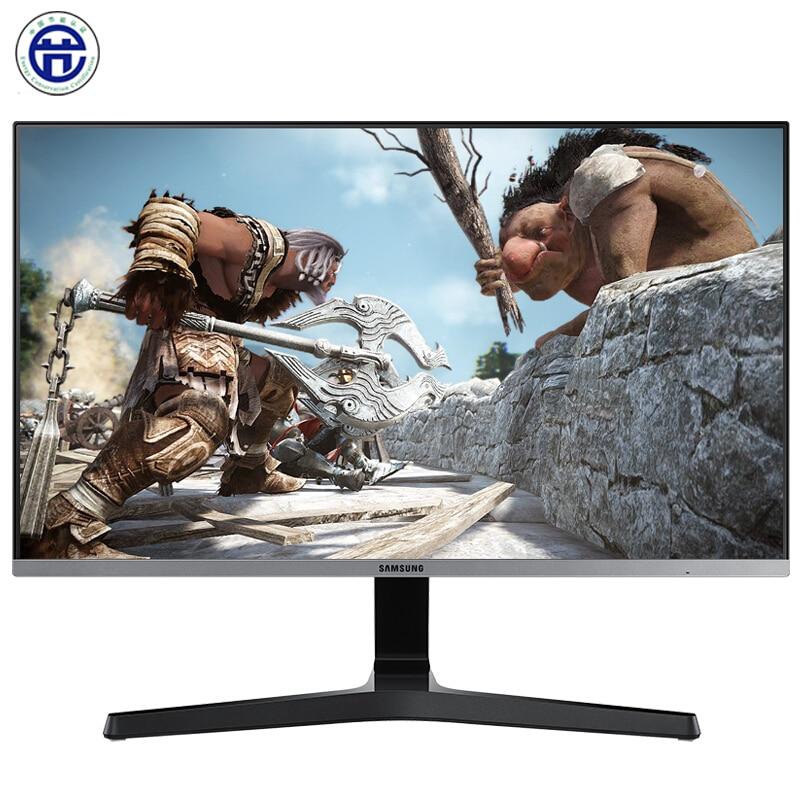 سامسونج 23.8 بوصة العين المحبة غير وميض تصفية الضوء الأزرق يمكن الحائط FreeSync LCD شاشة الكمبيوتر
