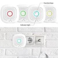 Systeme dalarme de securite domestique TUYA  wi-fi  Compatible avec les assistants Alexa et Google  ideal pour la maison  le Garage  le bureau