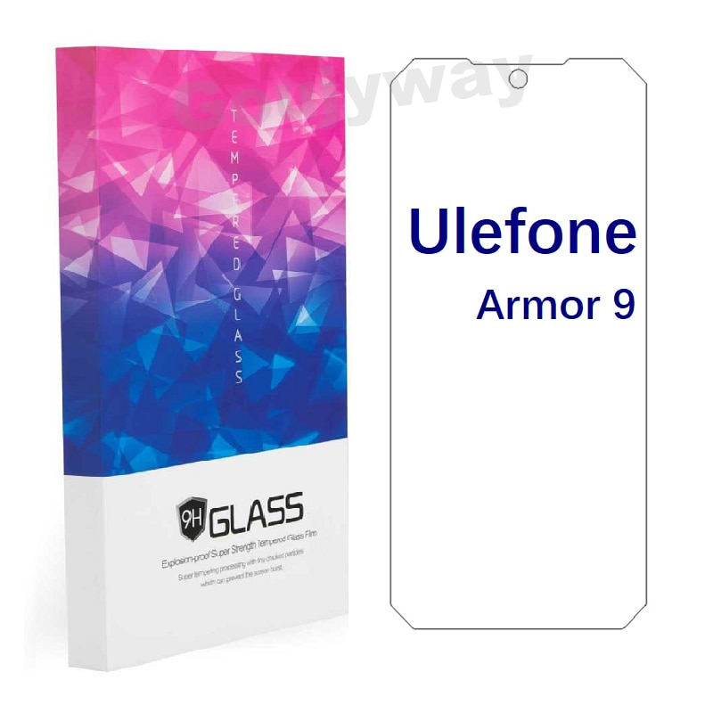 Ulefone Armor 9 Tempered Glass Protective FOR Ulefone Armor 9 6.3