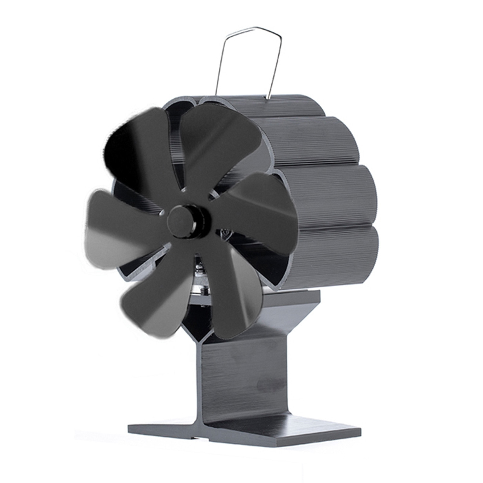 موقد صغير الموقد المنزل موقد يعمل بالطاقة الحرارية الصغيرة أقل الوقود لا ضوضاء 6 ريشة موقد الموقد مروحة مع جهاز الأمن متعلق بنظام المعدنين
