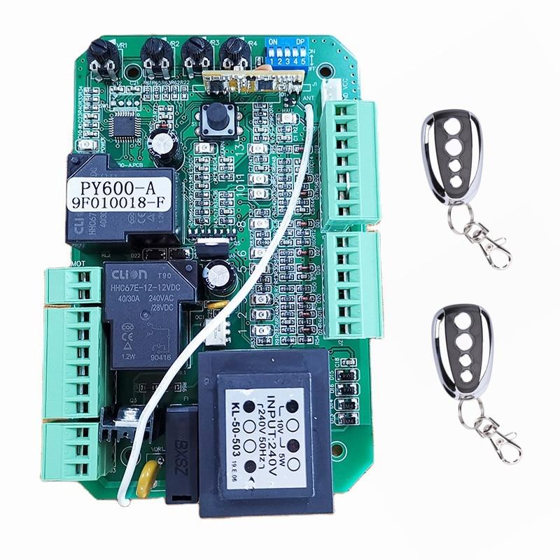 Автоматический Открыватель раздвижных ворот, печатная плата для управления двигателем переменного тока, контроллер мощности, 220 В, 110 В пере...
