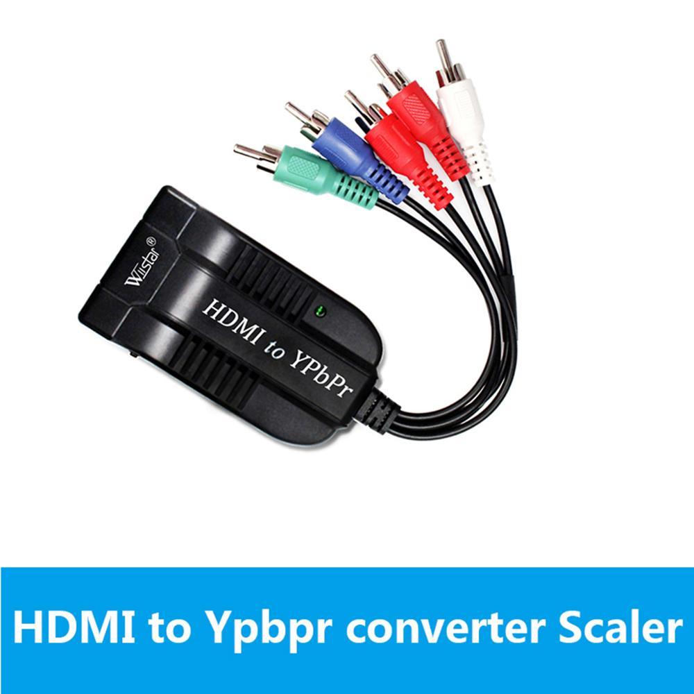 Convertidor de HDMI a componente, 1080P, convertidor HDMI a YPbPr, convertidor de...