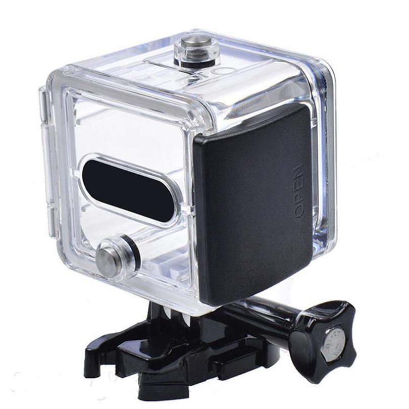 Capa impermeável para gopro hero 4/session 5, acessório para câmera de ação, mergulho subaquático