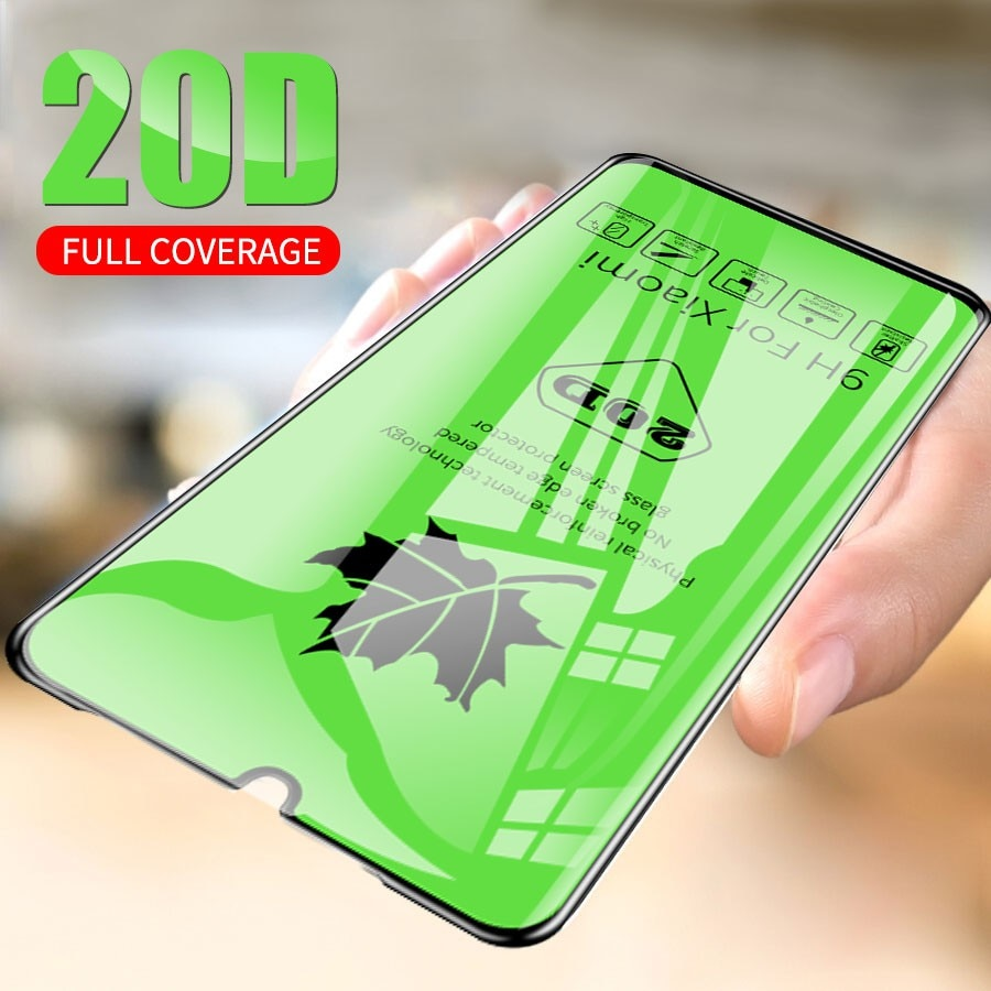 Funda completa de vidrio templado 20D para Samsung Galaxy A41 A21 A31 A01 A90 5G A71 A51 A50S A30S, película protectora de vidrio