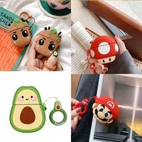 for airpods pro case 3d cartoon cute soft silicone earphone cases for apple air pods pro 1 2 wireless headphone cover bags