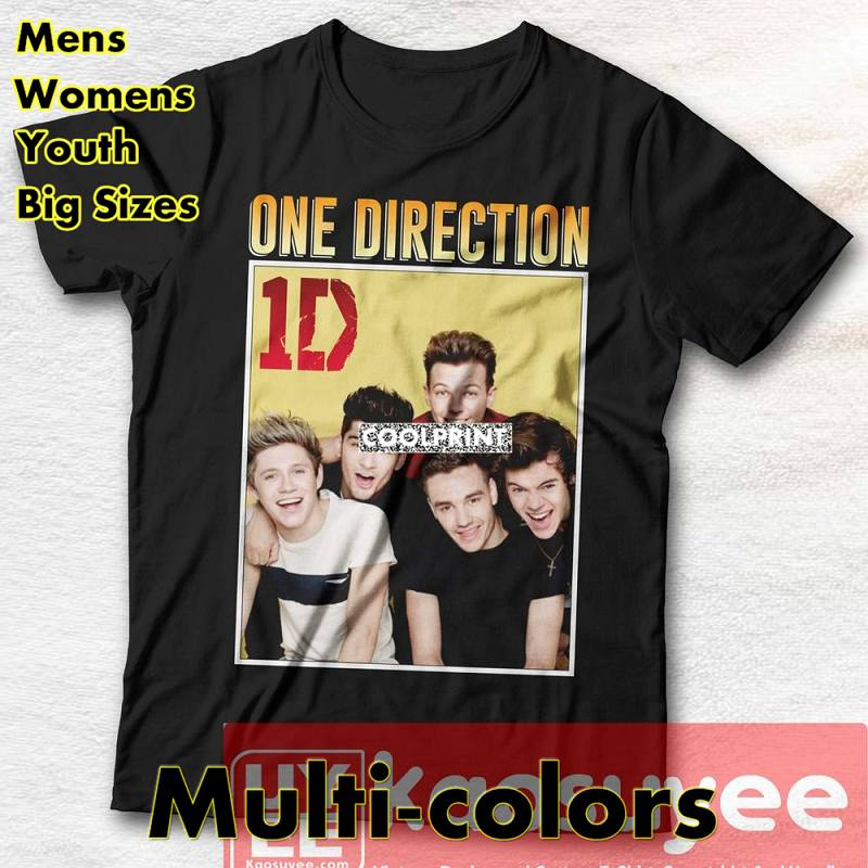 One Direction Vintage T Shirt One Direction vintage tee inspiring music T Shirts Oversized Mens Novelty t-shirts Printed Shirts