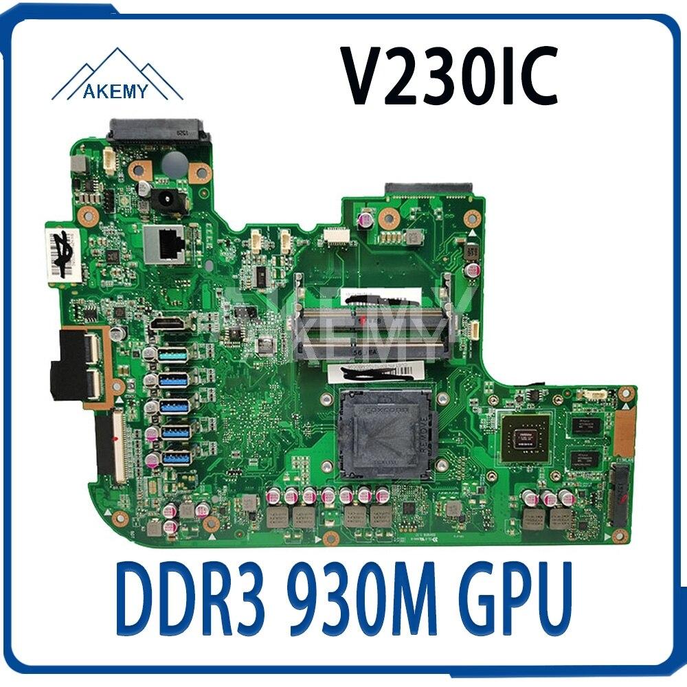 اللوحة الأم V230IC الكل في واحد لوحدة معالجة الرسومات ASUS V230 V230ICGK-BC206X الأصلية على اللوحة DDR3 GeForce 930M