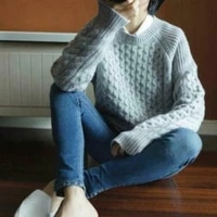 winter fall womens cashmere pullover knitwear sweater jumpers casual loose tops